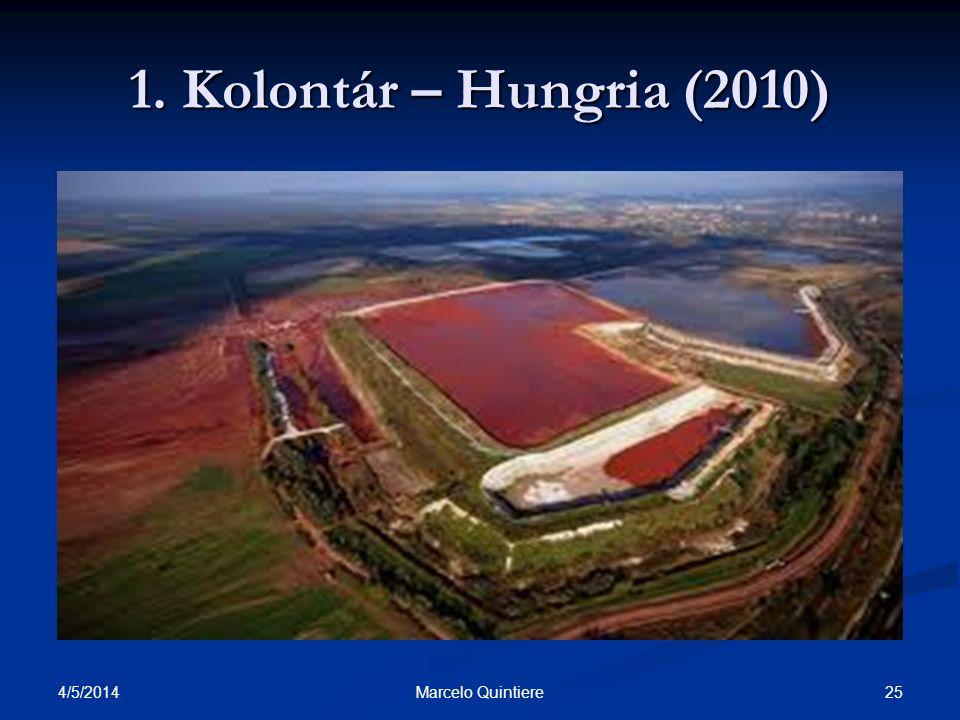 1. Kolontár – Hungria (2010) 30/03/2017 Marcelo Quintiere