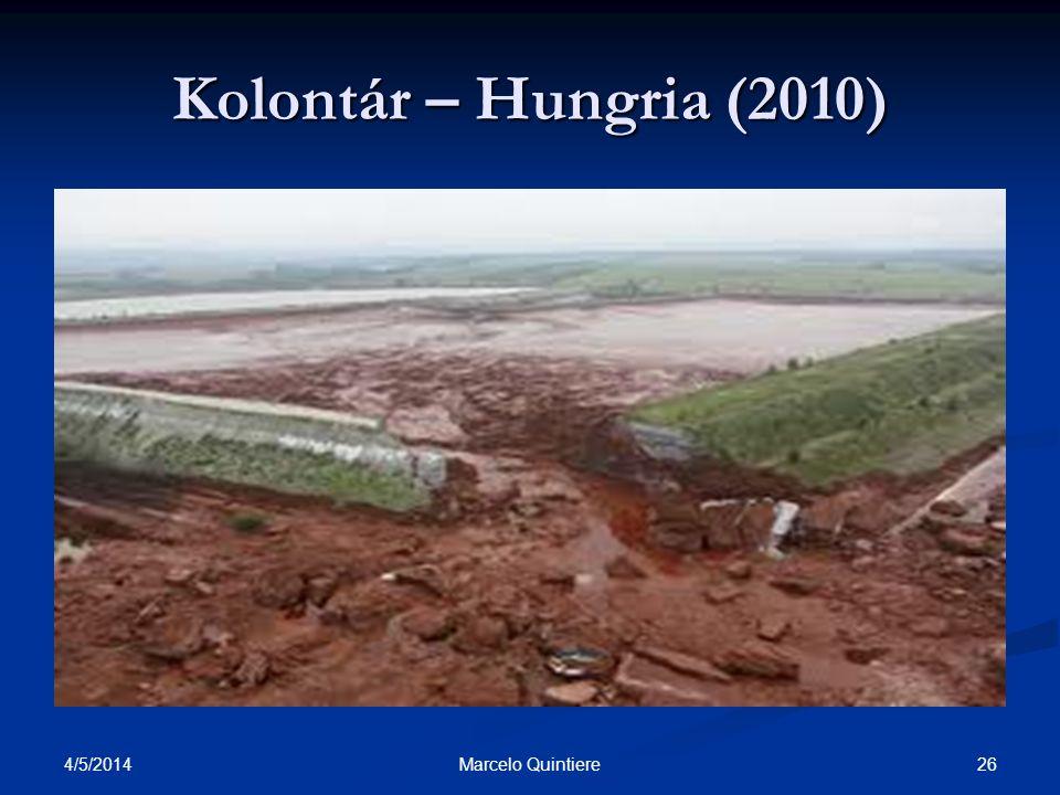 Kolontár – Hungria (2010) 30/03/2017 Marcelo Quintiere