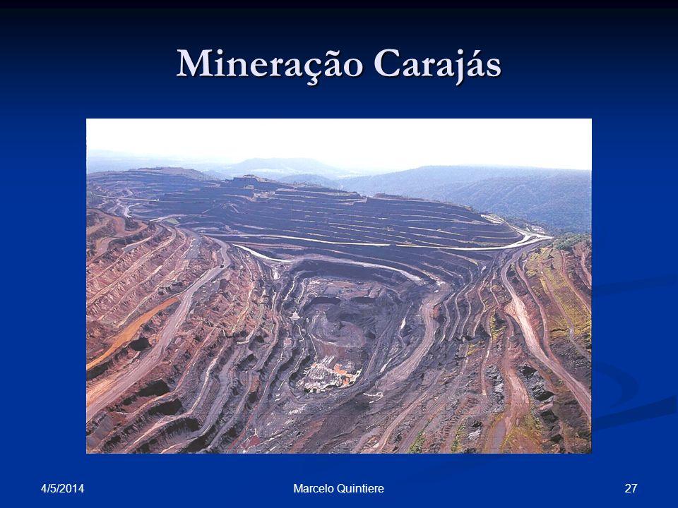 Mineração Carajás 30/03/2017 Marcelo Quintiere