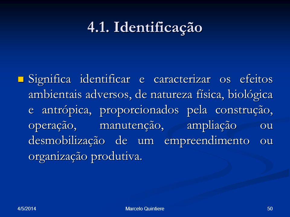 4.1. Identificação