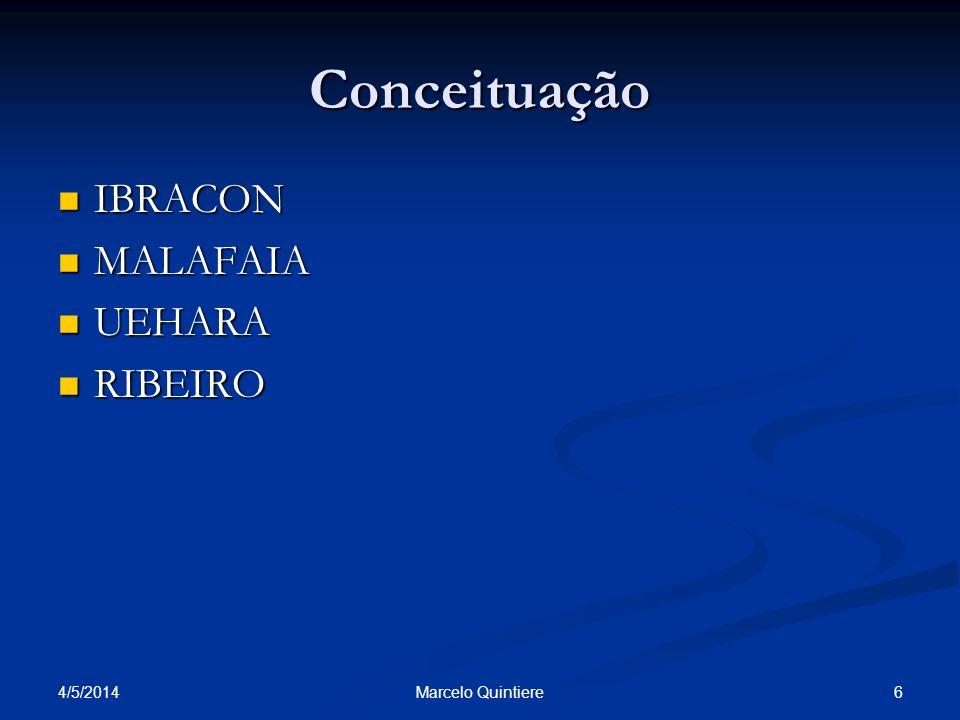 Conceituação IBRACON MALAFAIA UEHARA RIBEIRO 30/03/2017