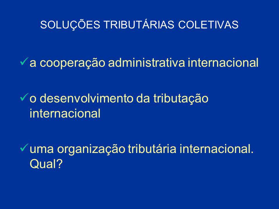 SOLUÇÕES TRIBUTÁRIAS COLETIVAS