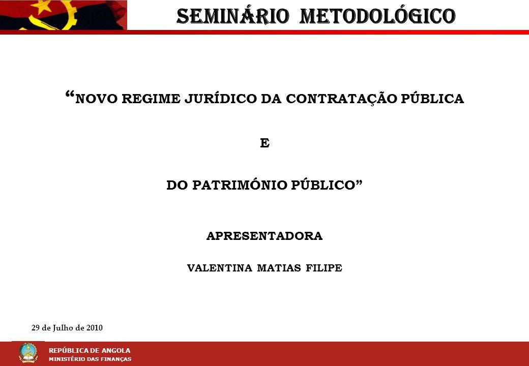 SEMINÁRIO METODOLÓGICO