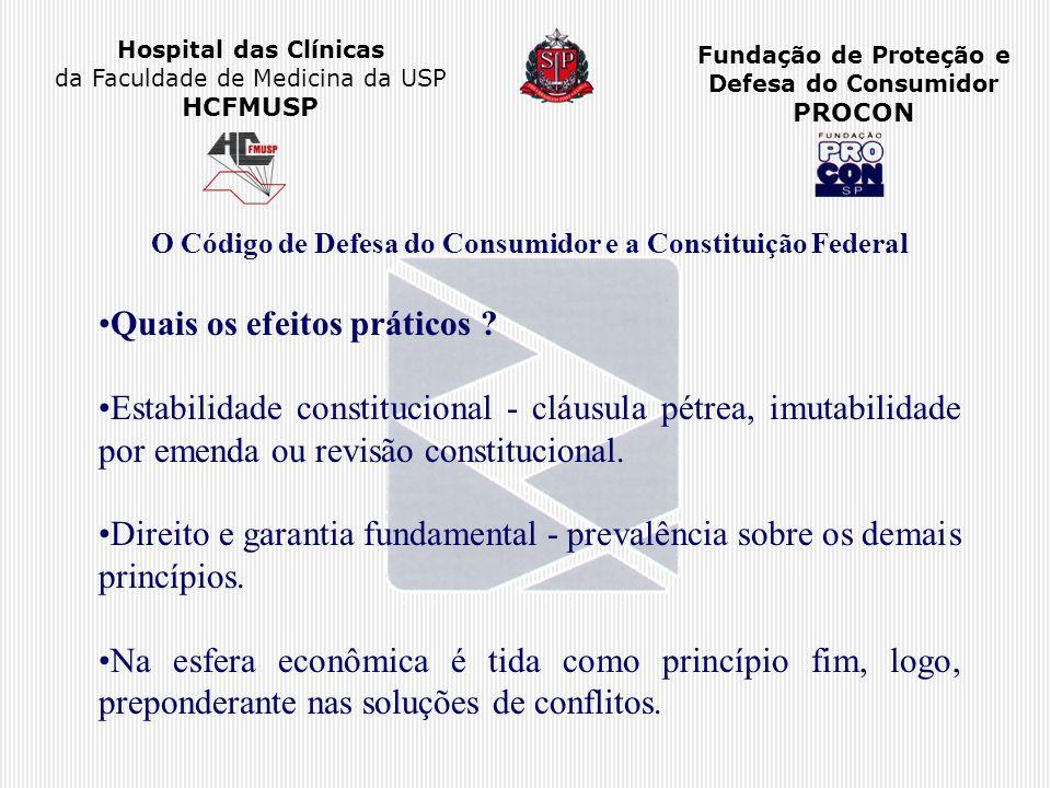 O Código de Defesa do Consumidor e a Constituição Federal