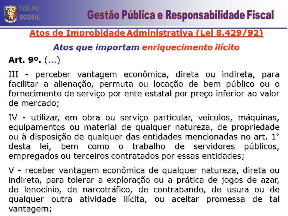 TCE-PB ECOSIL 19 Gestão Pública e Responsabilidade Fiscal