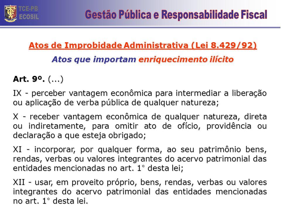 TCE-PB ECOSIL 21 Gestão Pública e Responsabilidade Fiscal