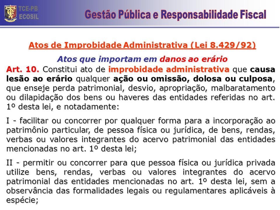 TCE-PB ECOSIL 22 Gestão Pública e Responsabilidade Fiscal