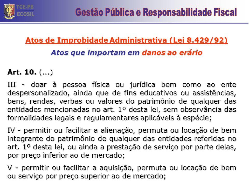 TCE-PB ECOSIL 23 Gestão Pública e Responsabilidade Fiscal