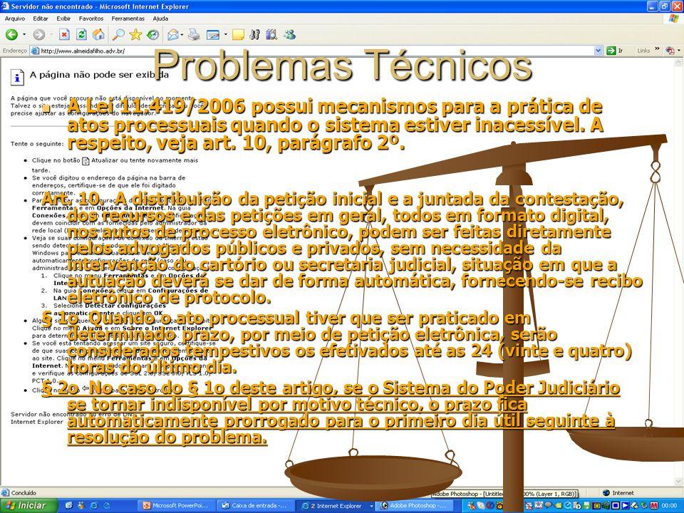 Problemas Técnicos