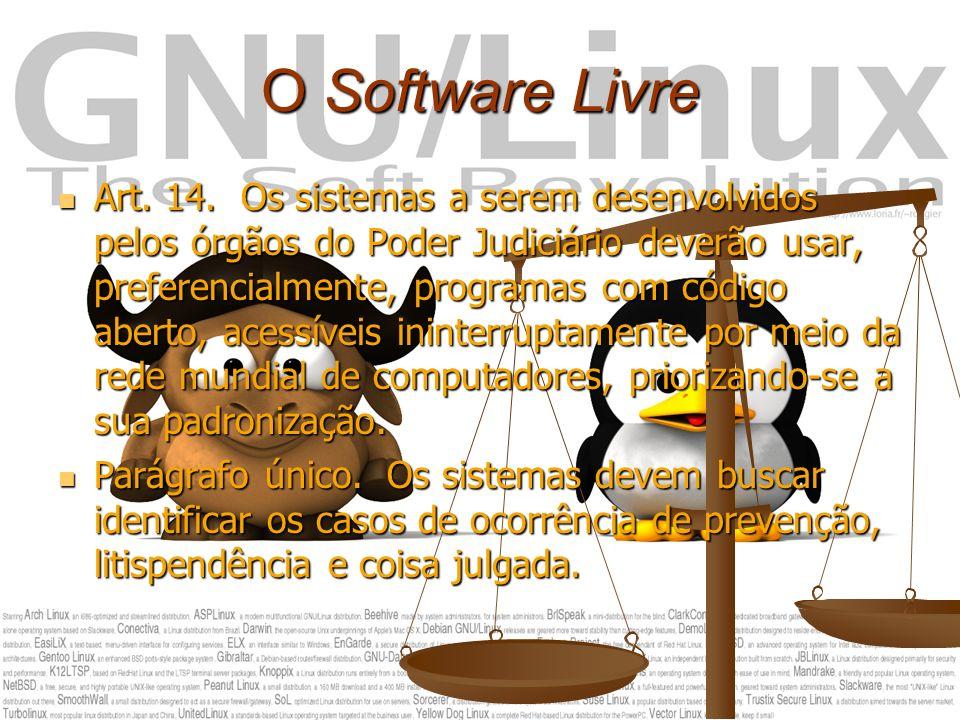 O Software Livre