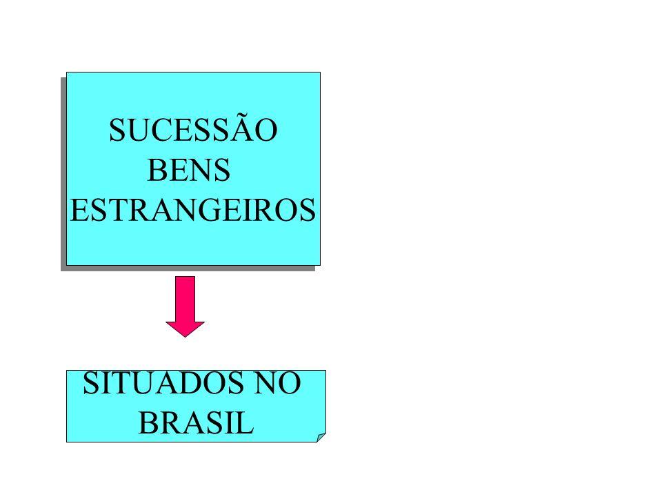 SUCESSÃO BENS ESTRANGEIROS SITUADOS NO BRASIL