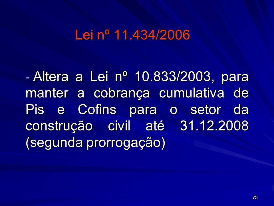 Lei nº 11.434/2006