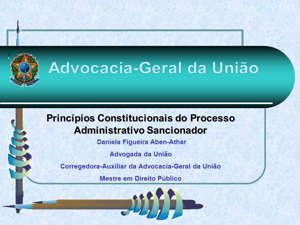 Princípios Constitucionais do Processo Administrativo Sancionador