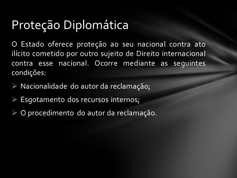 Proteção Diplomática