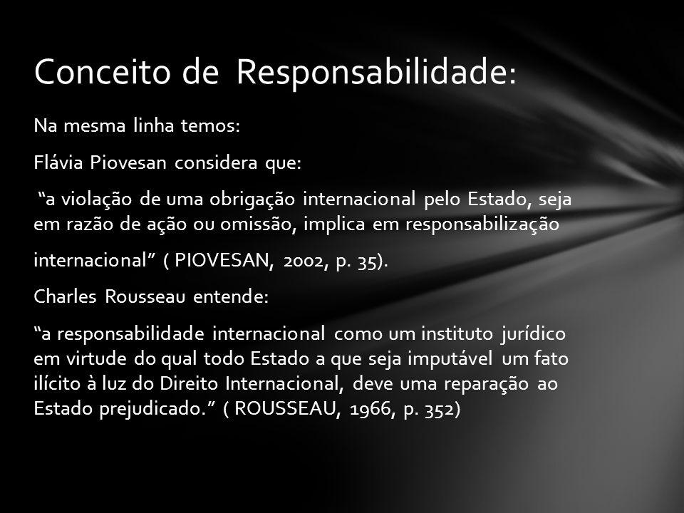 Conceito de Responsabilidade: