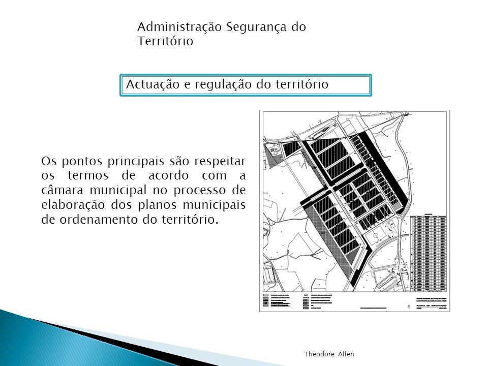 Actuação e regulação do território