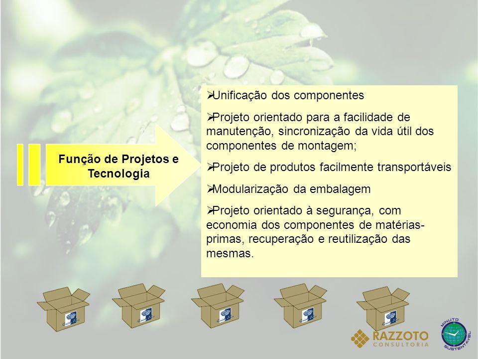 Função de Projetos e Tecnologia