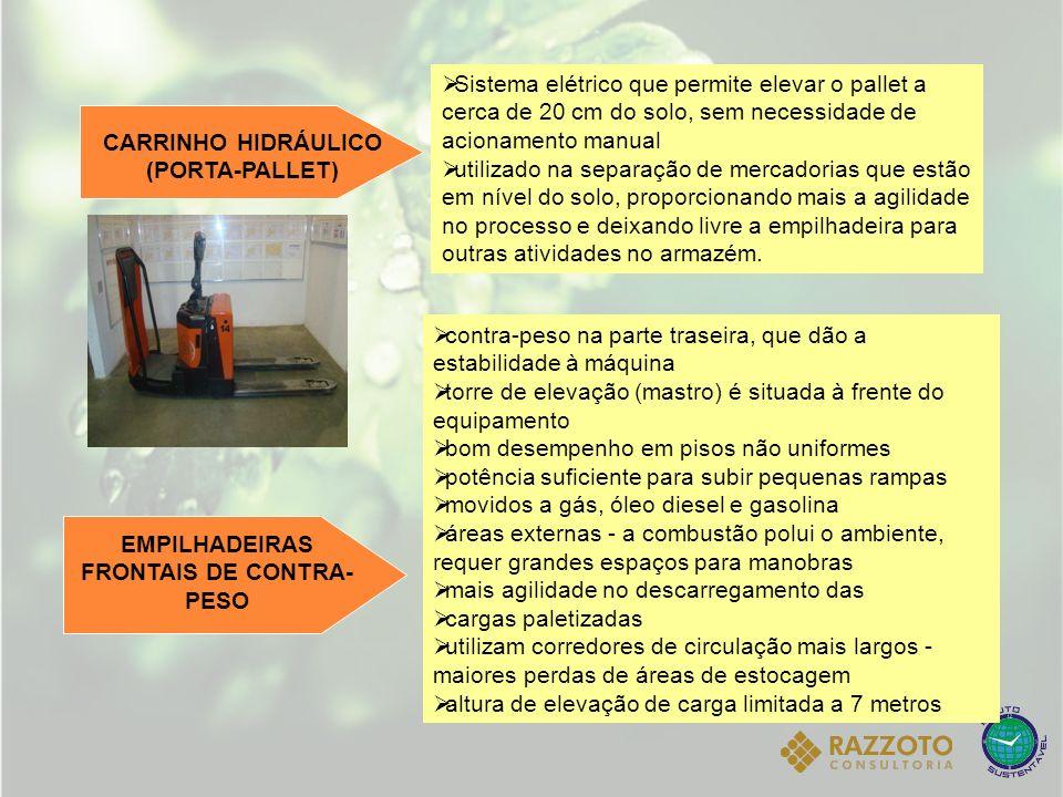CARRINHO HIDRÁULICO (PORTA-PALLET)