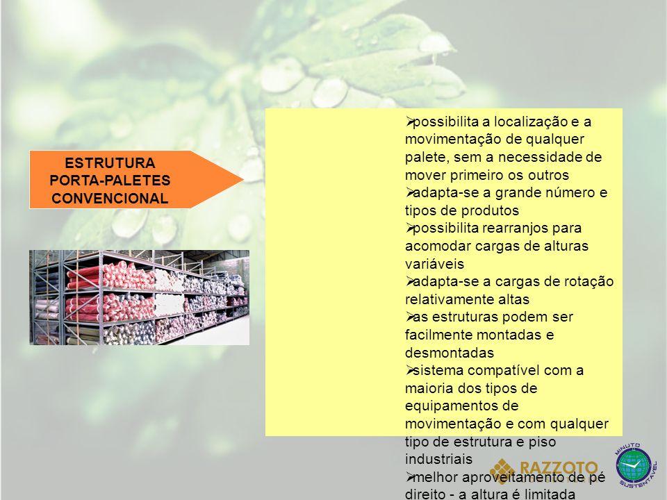 ESTRUTURA PORTA-PALETES CONVENCIONAL