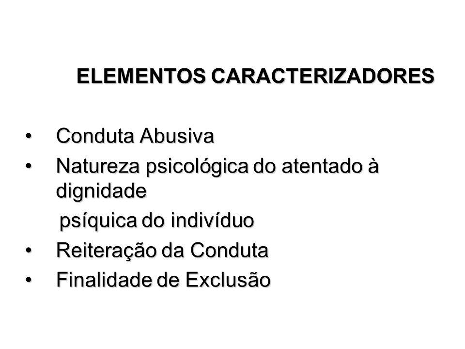 ELEMENTOS CARACTERIZADORES