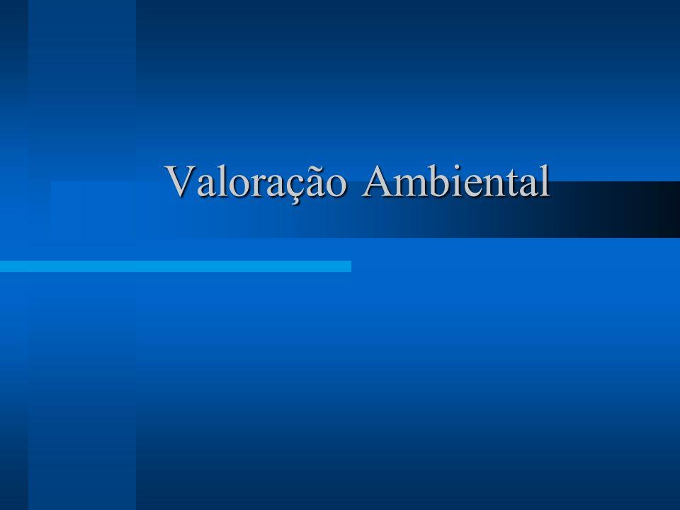 Valoração Ambiental