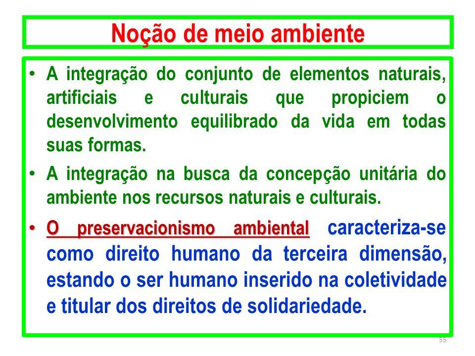 Noção de meio ambiente