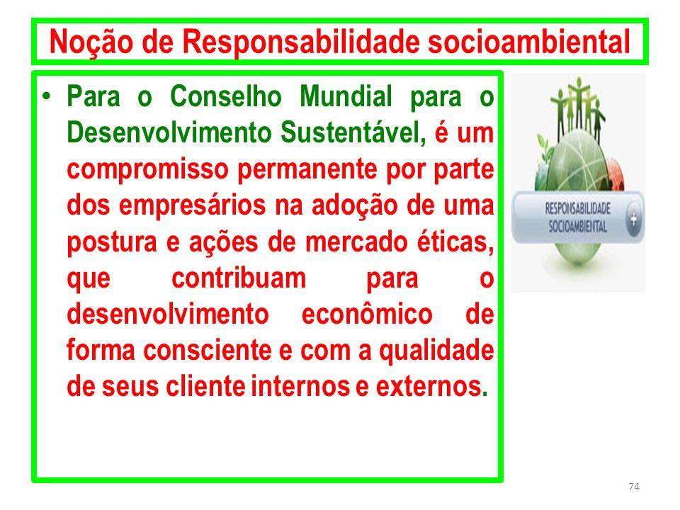 Noção de Responsabilidade socioambiental