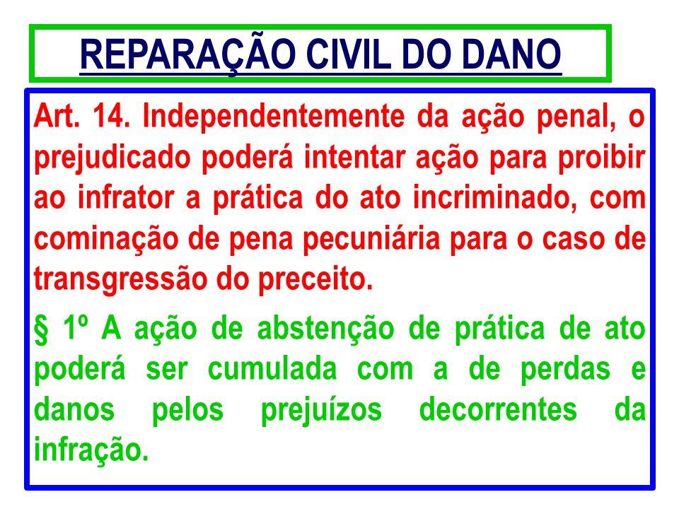 REPARAÇÃO CIVIL DO DANO