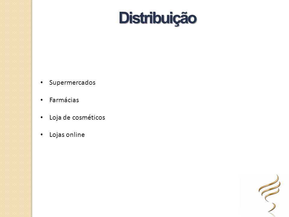 Distribuição Supermercados Farmácias Loja de cosméticos Lojas online