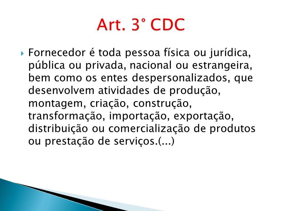 Art. 3° CDC