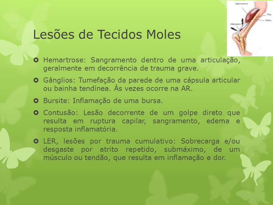 Lesões de Tecidos Moles