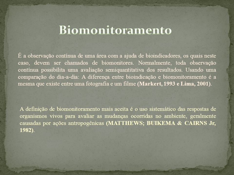 Biomonitoramento