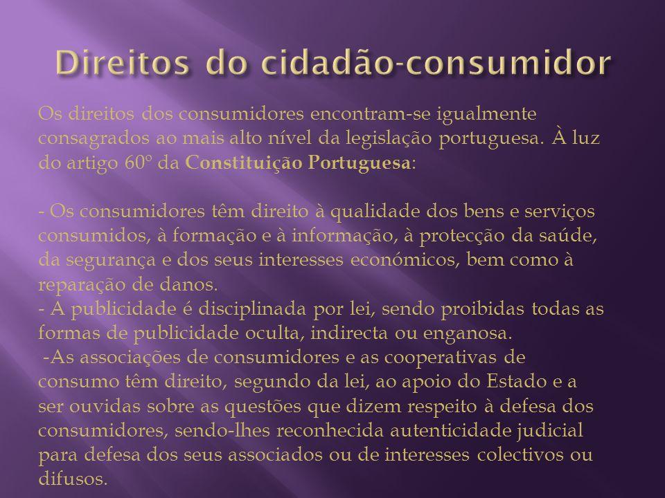 Direitos do cidadão-consumidor