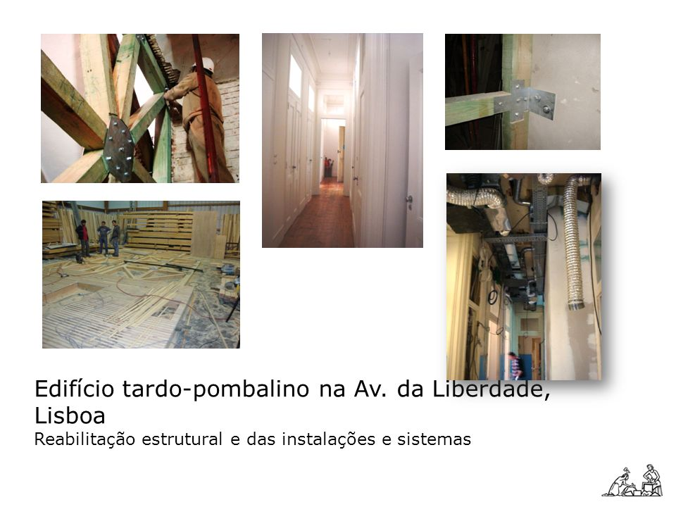 Edifício tardo-pombalino na Av. da Liberdade, Lisboa