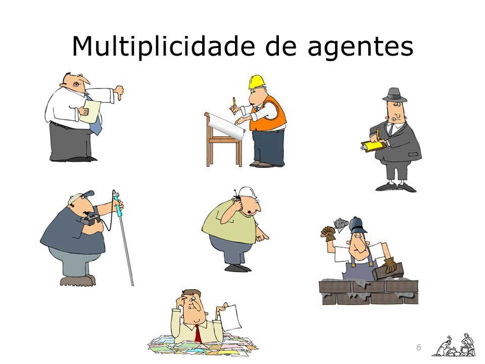 Multiplicidade de agentes