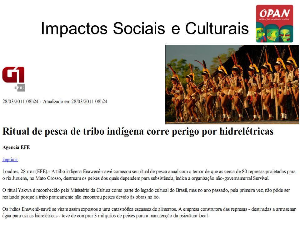 Impactos Sociais e Culturais
