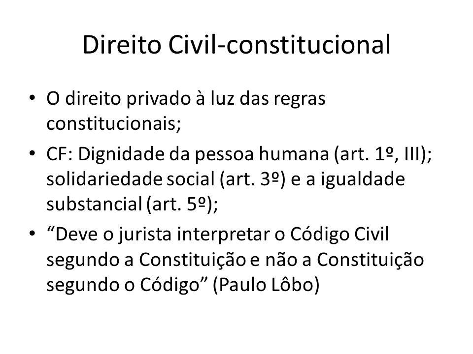 Direito Civil-constitucional