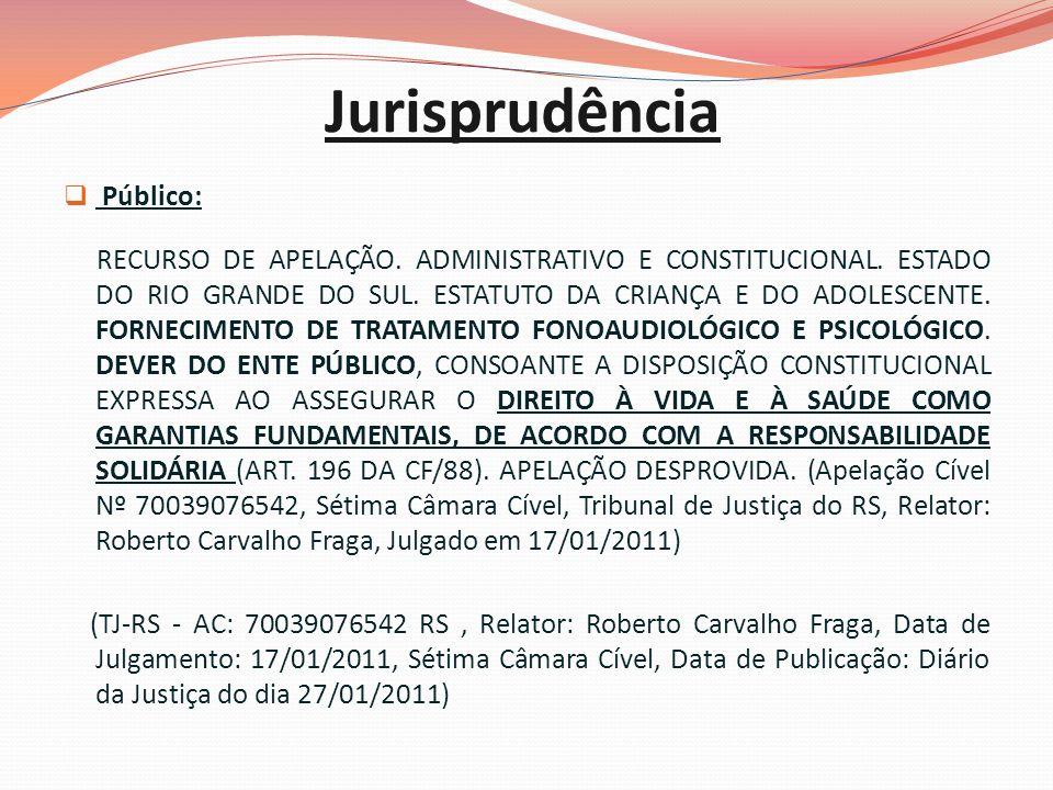 Jurisprudência Público: