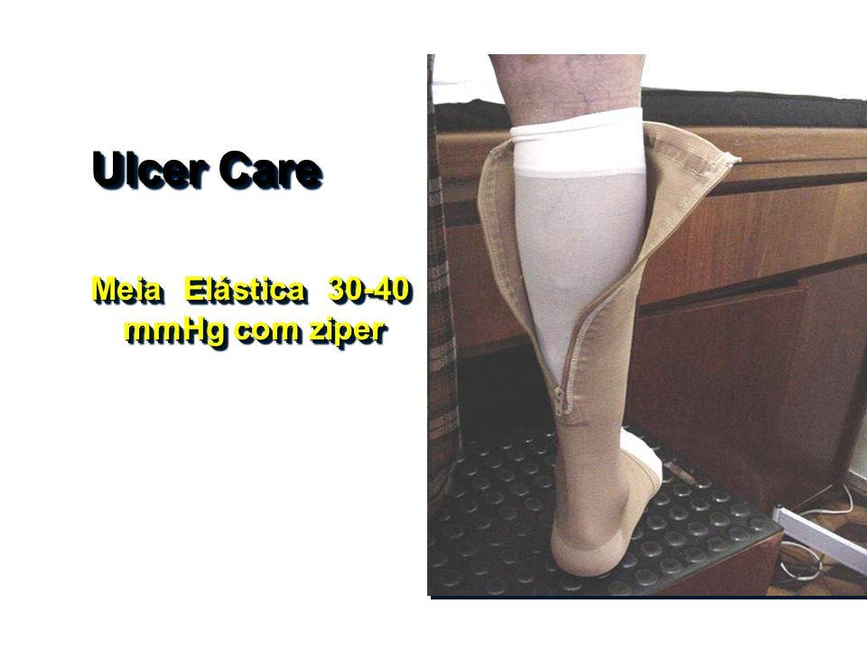 Ulcer Care Meia Elástica 30-40 mmHg com ziper