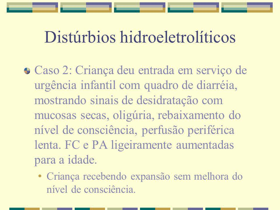 Distúrbios hidroeletrolíticos