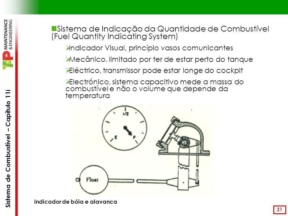 Sistema de Indicação da Quantidade de Combustível (Fuel Quantity Indicating System)