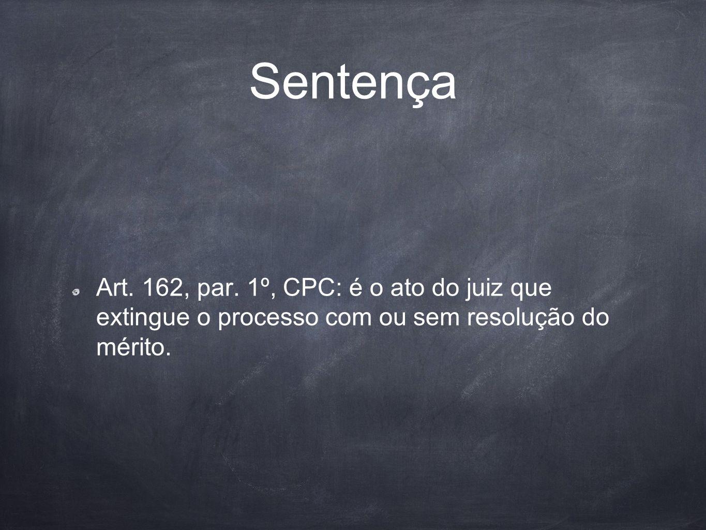 Sentença Art. 162, par.