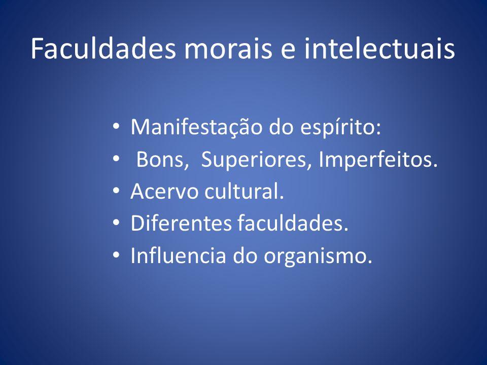 Faculdades morais e intelectuais