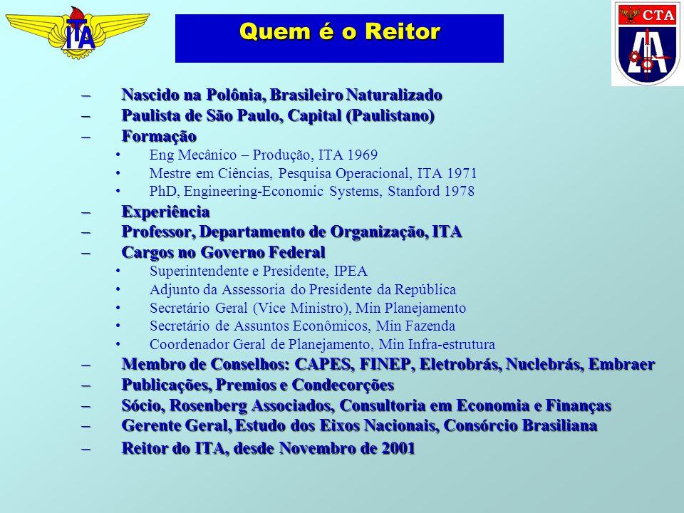 Quem é o Reitor Nascido na Polônia, Brasileiro Naturalizado