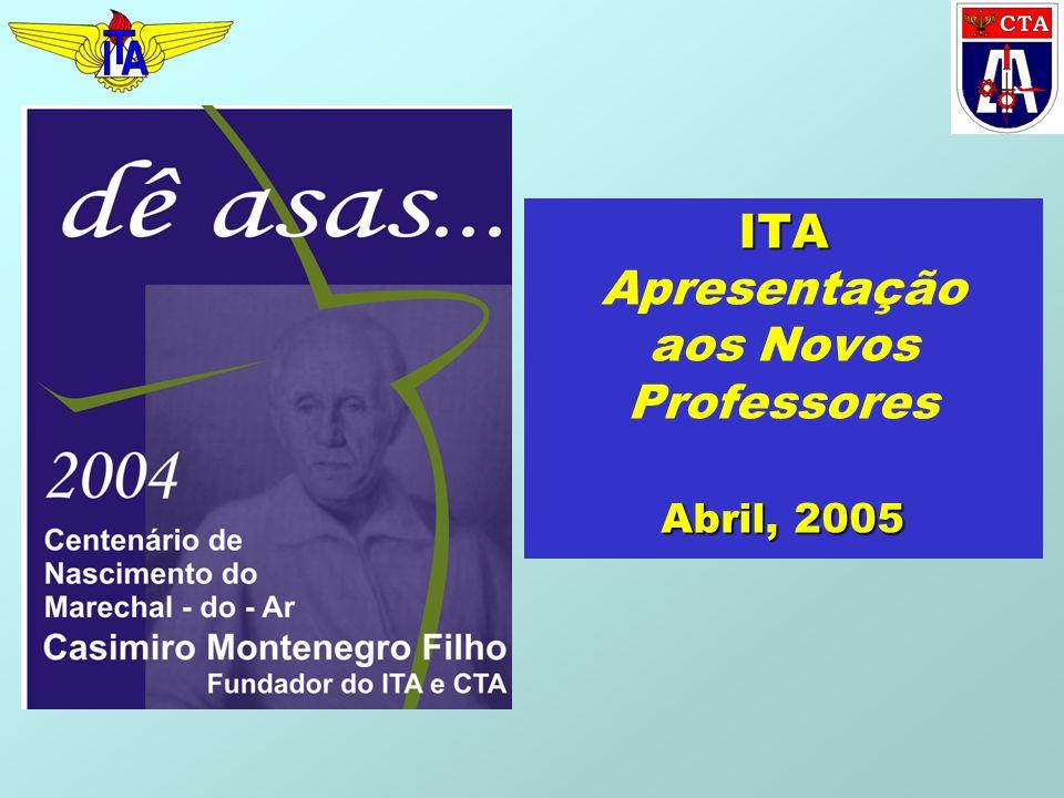 ITA Apresentação aos Novos Professores Abril, 2005