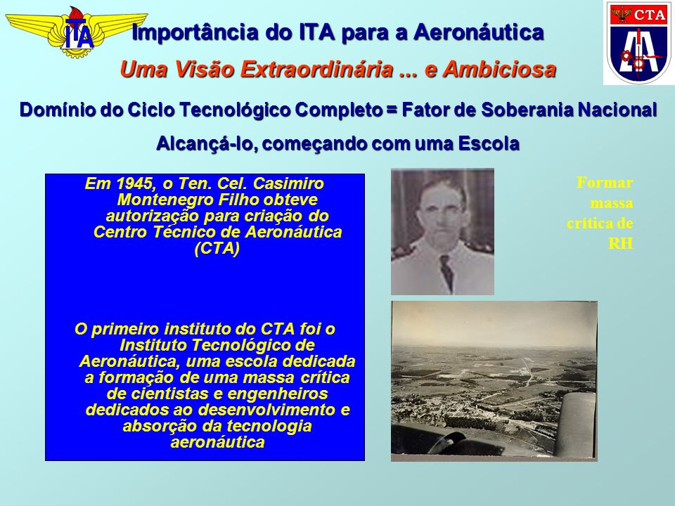 Importância do ITA para a Aeronáutica Uma Visão Extraordinária