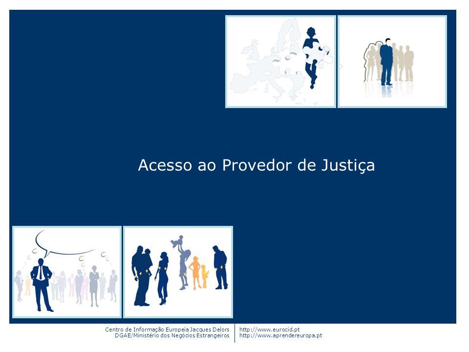 Acesso ao Provedor de Justiça