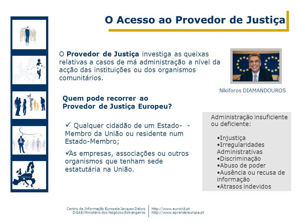O Acesso ao Provedor de Justiça