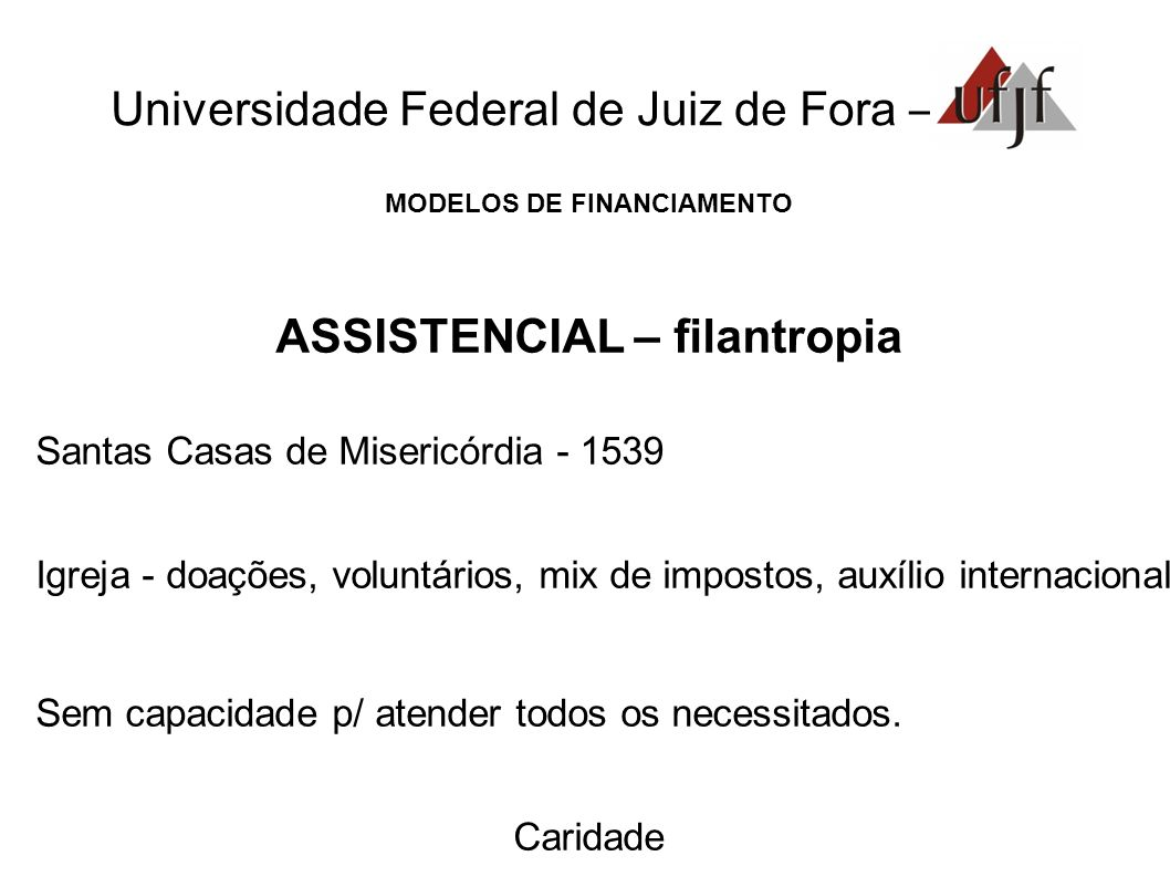 Universidade Federal de Juiz de Fora –