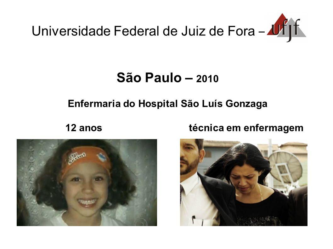 Enfermaria do Hospital São Luís Gonzaga 12 anos técnica em enfermagem